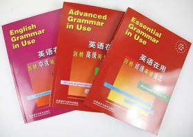English Grammar in Use全英文原版 英语在用剑桥初级中级高级英语语法 全套3册 实用大学英语语法大全手册自学教材书籍