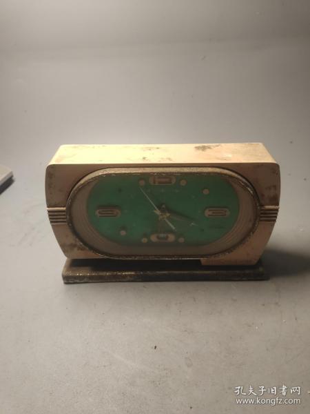 怀旧老物件,80年代,机械钟一只,未试钟