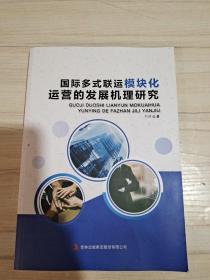 国际多式联运模块化运营的发展机理研究。