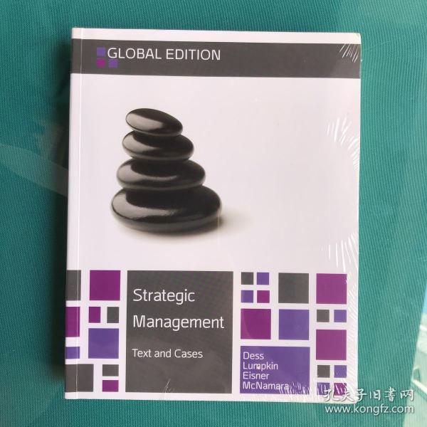 Strategic Management text and cases(塑封95品新书)