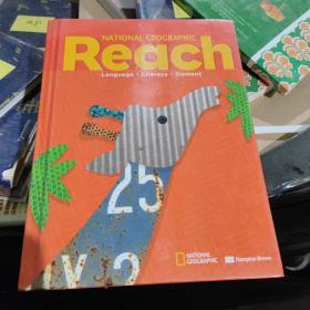 英文原版教材 《国家地理版 美国小学阅读教材》 National Geographic Reach : Language · Literacy · Content