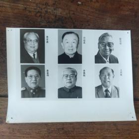 1993年,新当选的八届人大副委员长:孙起孟、雷洁琼、费孝通、秦基伟、李锡铭、王丙乾