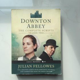 英文原版 Downton Abbey Script Book Season 2 唐顿庄园剧本第二季