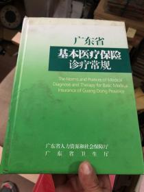 广东省基本医疗保险诊疗常规