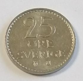 瑞典25欧尔保真