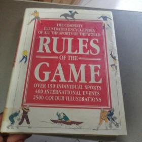 RULES OF THE GAME the Diagram Group:游戏规则图表组 以图为准
