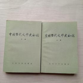 中国当代文学史初稿(上下册)