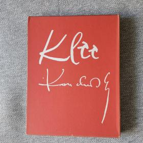 KLEE  KANDINSKY   保罗 科利  康定斯基     35 x 27 x 3 cm (大型本  折叠散装) 原版现货
