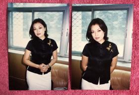 著名女演员 史可 老照片2枚