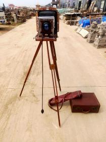 老照相机,上海产老海鸥牌 三足室外照相机一套  品相一流 正常使用  牢固包老  值得拥有