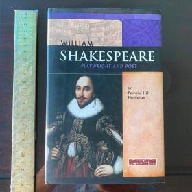 William Shakespeare playwright and poet a life biography 莎士比亚传 英文原版精装