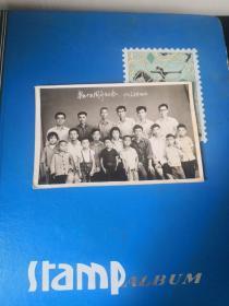 毕业十五周年纪念1971年8月15日  品如图  笔记本邮夹内