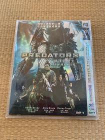 DVD新铁血战士。港名:铁血战士s/PREDATORS。地球上最杀的人类在这里变成猎物