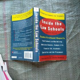 美国法学院概览(第7版) Inside The Law Schools  实物拍图  外文版 请看图