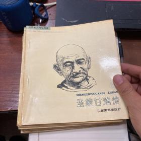 世界名人传记画库 第二辑 全十册
