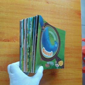 易趣幼儿英语 level  1B(1-4)2AB(1-4)3AB(1-4)共20本合售