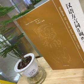 汉语方言词汇调查手册