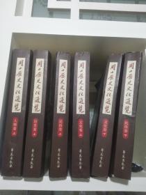 周口历史文化通览(六本。自然旧。民俗卷下有损,见图片)