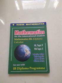 MATHEMATICS FOR THE INTERNATIONAL STUDENT: MATHEMATICS HL (OPTION): CALCULUS (INCLUDES CD)