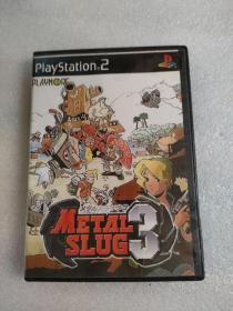 游戏光盘playstation2METAL SLUG4