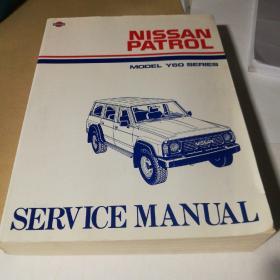 NISSAN  PATROL  MODEL  Y60  SERIES  SERVICE MANUAL 尼桑Y60系列维修手册(英文版)