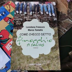 COME CHECCO DETTO FINOCCHIO SI SALVO (葡萄牙文)