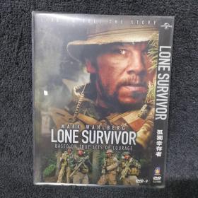 孤独幸存者 DVD  光盘 碟片 外国电影 (个人收藏品) 有内封