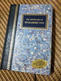 The Adventures of Huckleberry Finn(精装本烫金英文原版马克.吐温著大32开(译哈克贝利.费恩历险记