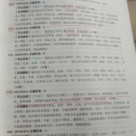 2021年中医考研临床医学综合能力(中医)考点还原与答案解析上下册,试题分册3本
