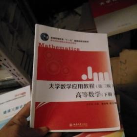 大学数学应用教程:高等数学(下册第3版)