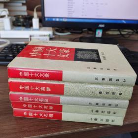 中国十大系列丛书 5册合售