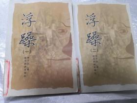 浮躁 贾平凹 一、二两册合售 陕西旅游出版社9787541817373