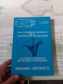 PARIS JUNE 86 ABSTRACTS OF THE 2nd WCNR