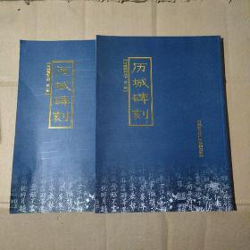 历城碑刻   第一辑 第二辑     2本合售      91-95-66-09       见描述