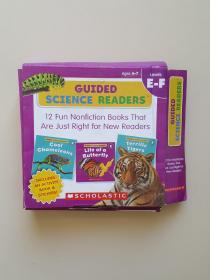 科学指导型阅读 英文原版 Guided Science Readers E-F 学乐分级阅读(全12册)