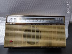 文革时期收音机:星火MW69-5J1五管二波段收音机