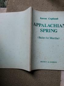 阿帕拉契亚之春 钢琴曲谱类