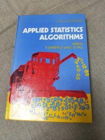 应用统计学算法  英文原版