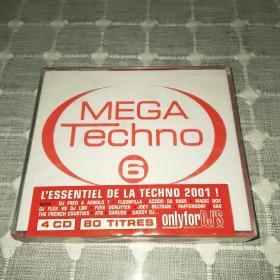 Meta techno 6 CD泰克诺音乐(4cd未拆封 )