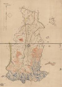 古地图1902 安阳县全境舆图 光绪二十八年前。纸本大小118.65*166.23厘米。宣纸艺术微喷复制。550元包邮
