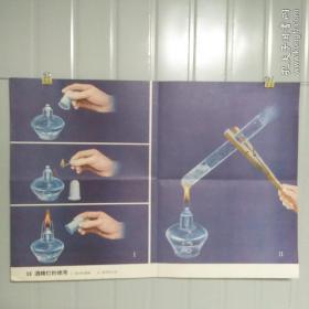 小学课本教学挂图 36酒精灯的使用 全套85幅