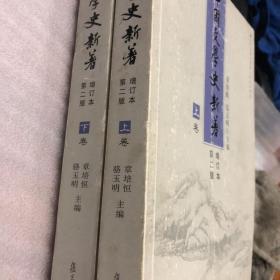 中国文学史新著 增订本 上下卷