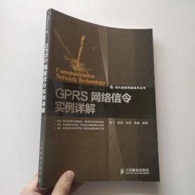 现代通信网络技术丛书:GPRS网络信令实例详解