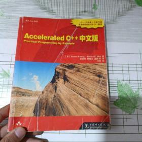 Accelerated C++中文版 (首页有字迹)