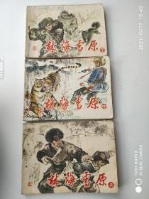 林海雪原(连环画)上中下册