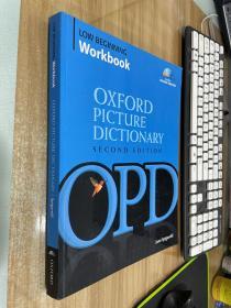 The Oxford Picture Dictionary Low Beginning Workbook牛津图片词典 第二版 入门-低级 附CD 英文原版