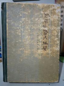 实用中医内科学,1985版布脊精装。