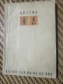电影文学剧本 鲁迅 上(赵延年版画插图
