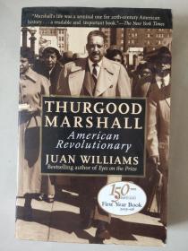 Thurgood Marshall:American Revolutionary 英文原版 插图本