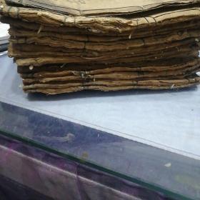 清代铜版四书旁训,17本合售